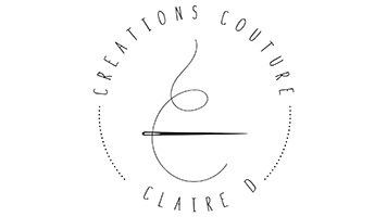 Logo Claire D. Créations Couture